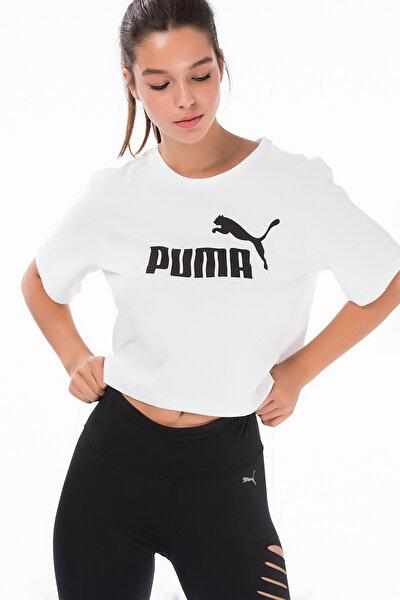 Kadın T-shirt - Essentials+ Cropped Tee - 85259402