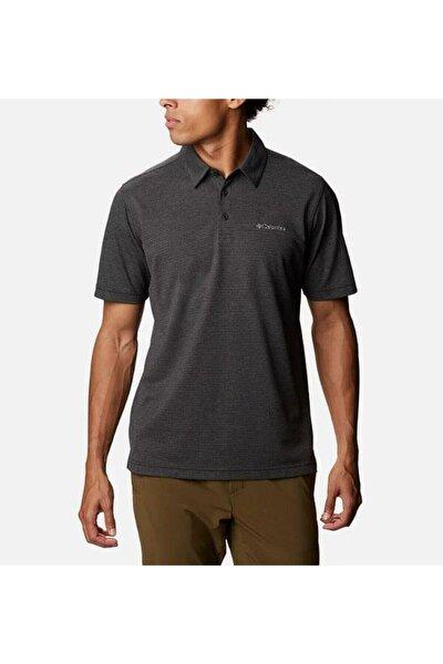 Erkek Siyah Havercamp Pike Polo Yaka Kısa Kollu T-Shirt Am2996-010