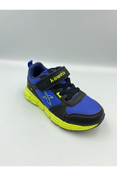 681 Erkek Çocuk Mavi Spor Koşu-yürüyüş Ayakkabısı