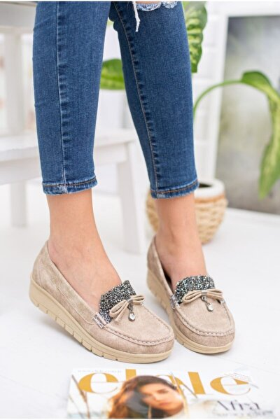 Full Ortopedik Anne Ayakkabısı Vizon