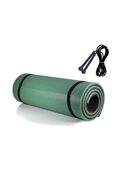 Pilates Minderi & Yoga Mat Çift Taraflı + Atlama Ipi