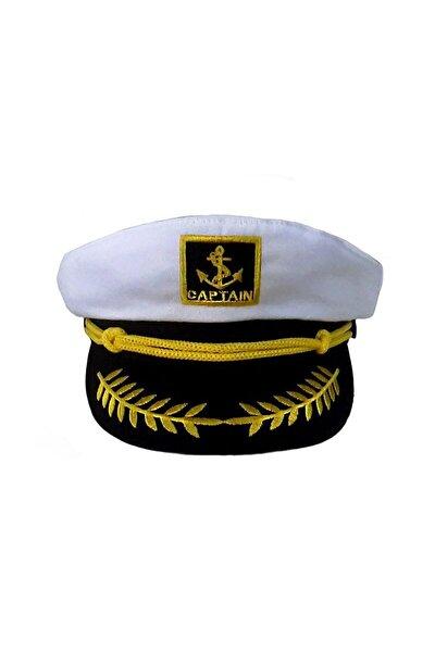 Denizci Kaptan Şapka (Beyaz) P-071