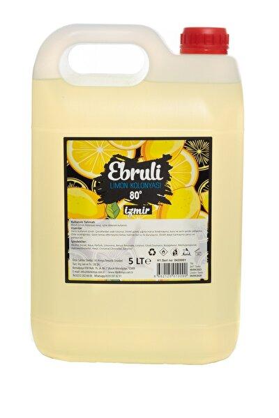 Limon Kolonyası Bidon 5 Lt 80° Derece