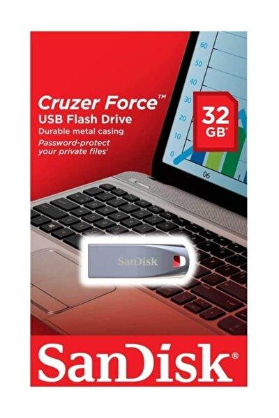 Cruzer Force Usb 2.0 32gb Metal Usb Bellek
