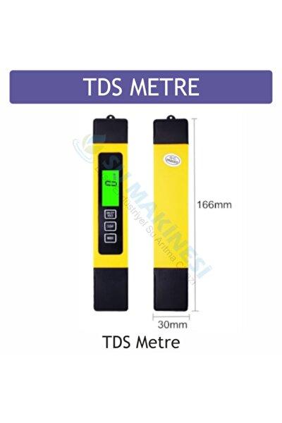 Tds Metre Su Ölçüm Cihazı Termometreli Işıklı