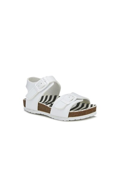 Bonbon Unisex Bebe Beyaz Sandalet