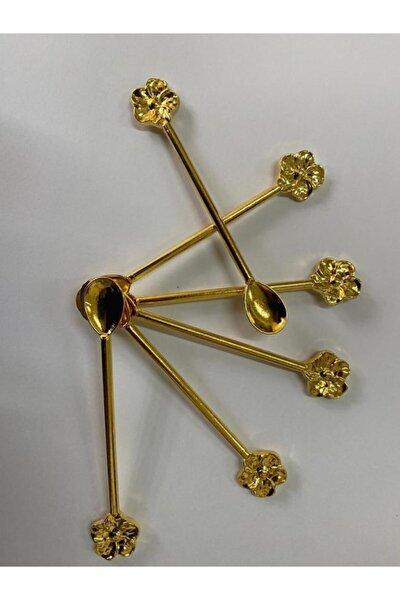 Gold Çiçek Kaşık