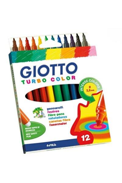 Turbo Color Keçeli Kalem 12'li 416000