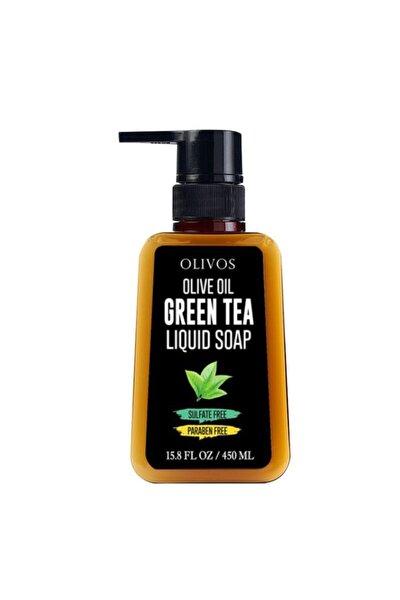 Zeytinyağlı Yeşil Çay Özlü Sıvı El Sabunu 450 Ml