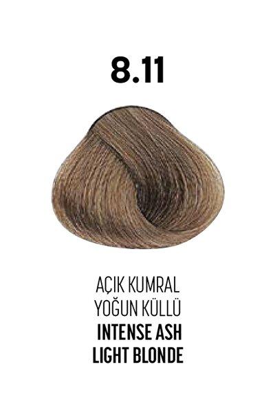 8.11 / Açık Kumral Yoğun Küllü - Intense Ash Light Blonde - Glamlook Saç Boyası