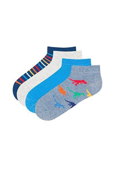 Erkek Çocuk Patik Çorap  4'lü