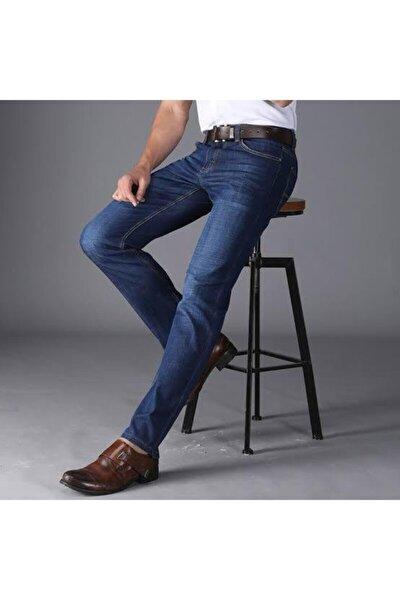 Erkek Mavi Slimfit Jean