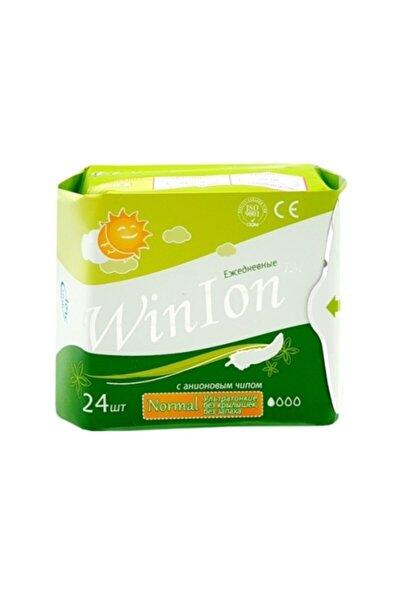 Winlon Günlük Bakım Hijyenik Kadın Pedi Negatif Iyonlu Anion - 1 Paket