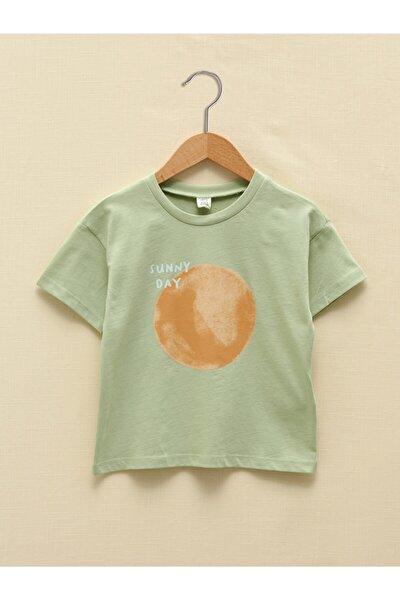 Erkek  Çocuk Yeşil Tişört