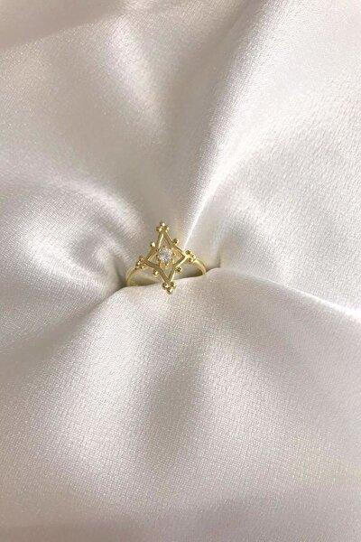 Prenses Model Yüzük 925 Ayar Gümüş