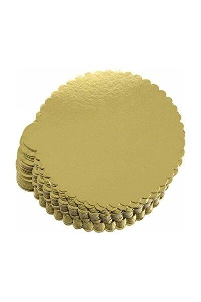 Pasta Altlığı Gold Mendil Kalın 30 Cm - 10 Adet