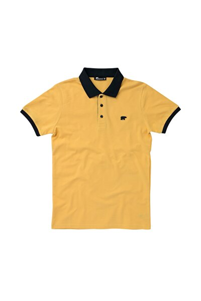 SWITCH PIQUE POLO MUSTARD