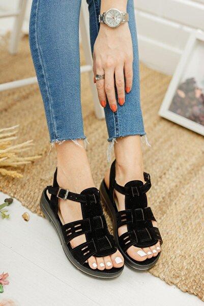 Mglily07 Kadın Günlük Sandalet