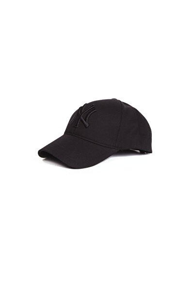 Siyah Nakışlı Şapka