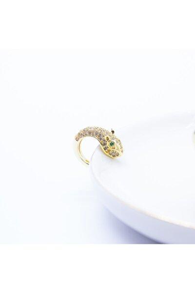 Altın Kaplama Kaplan Ear Cuff (kıkırdak) Küpe
