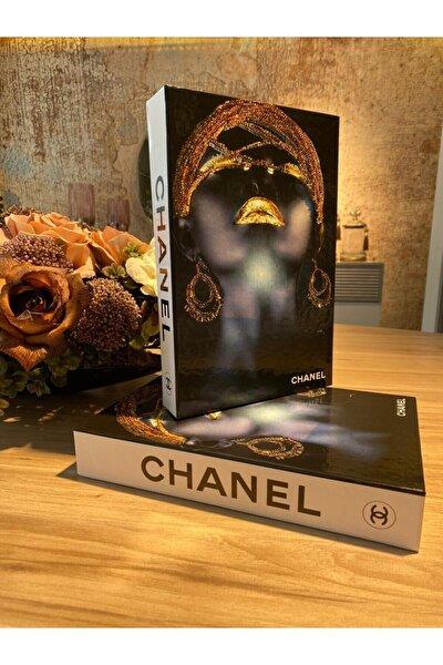Chanel Kadın Dekoratif Kitap Kutu