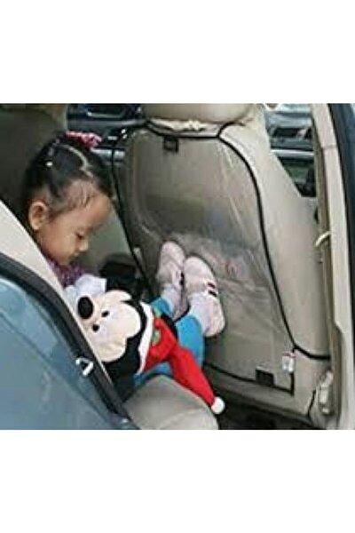 Oto Araba Koltuk Arkası Koruyucu Şeffaf Kılıf Oto Kılıf 2 Adet