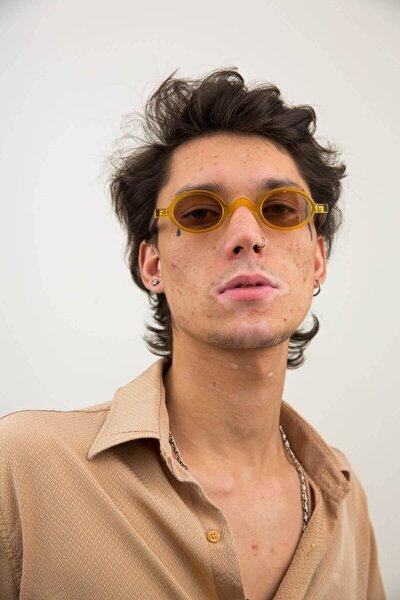 Baraque Amber Matt Erkek Güneş Gözlüğü