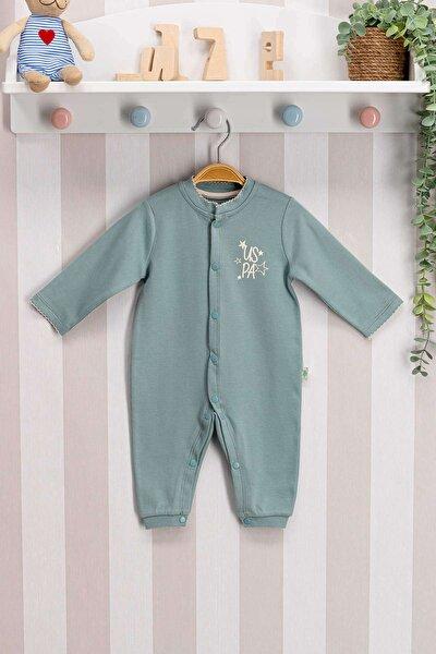 U.s. Polo Assn Lisanslı Bebek Uzun Kol Patiksiz Tulum Usb054