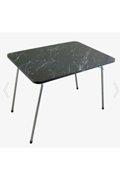 60x80 Katlanır Çok Amaçlı Masa Piknik Masası Balkon Masası Bahçe Masası Katlanır Masa