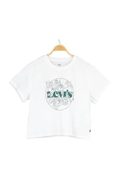 Kadın  Graphıc Varsıty Tee Lse_Outlıne Floral T-Shirt 69973-0184
