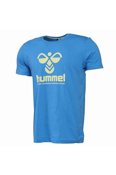 Erkek Mavi Centıl Kısa Kollu Tişört