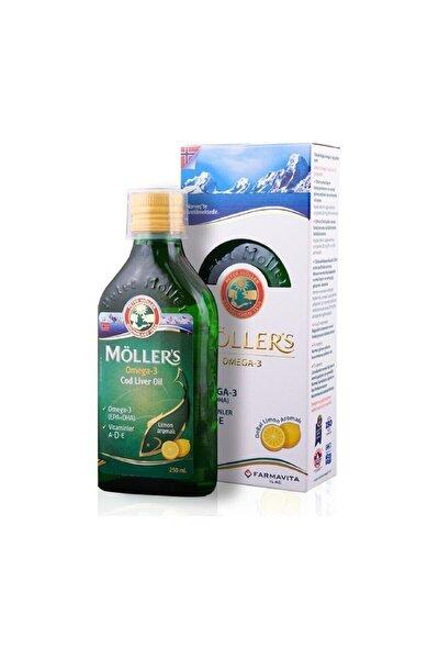 Omega 3 Balık Yağı 250 Ml Limon Aromalı
