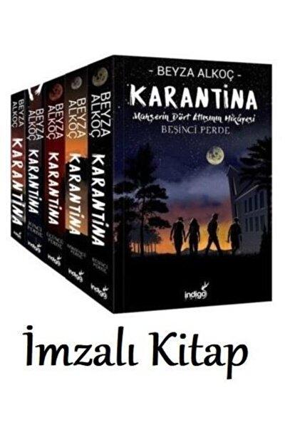 Beyza Alkoç Karantina Set Imzalı (5 Kitap )