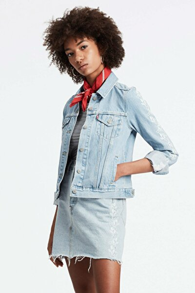 Kadın Jean Ceket 29945-0080