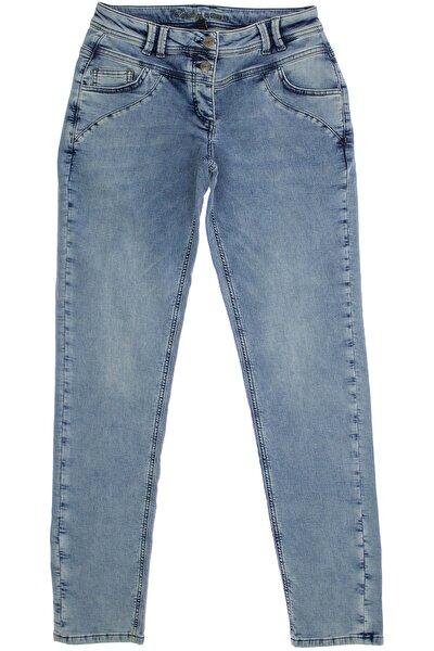 Kadın Mavi Denim Lovers Klasık Lıkralı Cep Detaylı Jeans