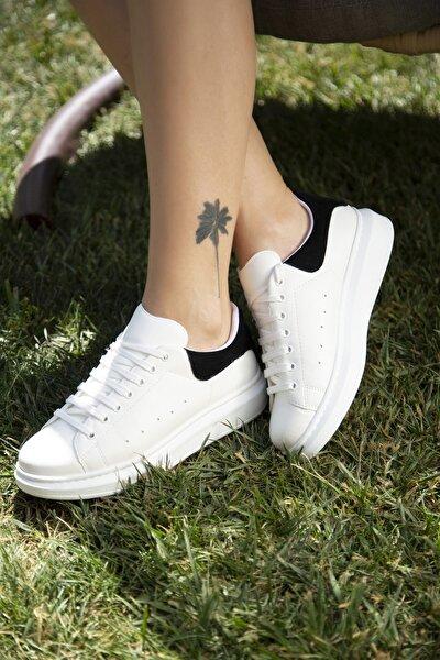 Kadın Beyaz Günlük Spor Ayakkabı