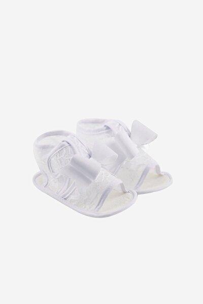 Fiyonklu Cırtlı Sandalet