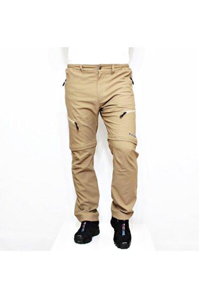 Erkek Bej Outdoor Modüler Trekking Pantolon