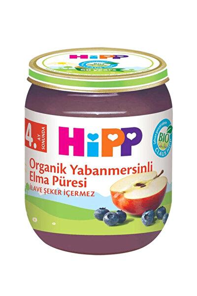 Organik Yaban mersinli Elma Püresı 125 gr