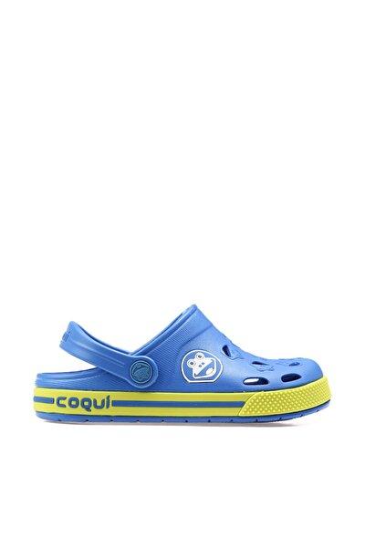Mavi Çocuk Terlik 8801-FROGGY-ROYAL-CITRUS