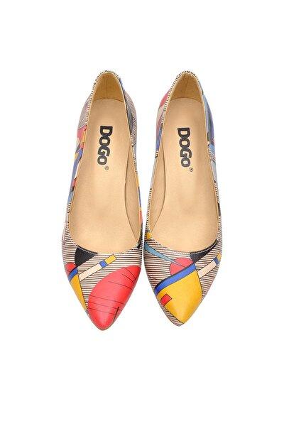 Çok Renkli Kadın Topuklu Ayakkabı DGHH016-STL004