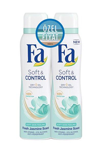 Deodorant Sprey 2'Li Soft & Control 150 ml + 150 ml 8690572783283