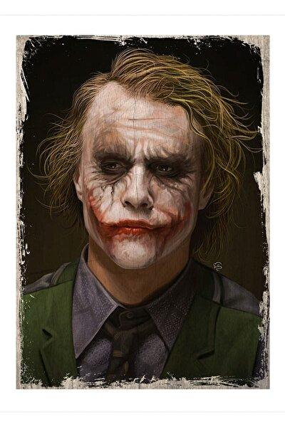 50cmX70cm Ahşap Tablo Joker