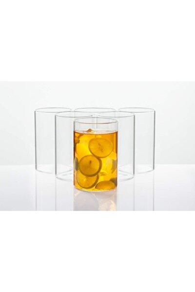 6 Parça Hafif Ve Isıya Dayanıklı Borosilikat Cam Içecek Ve Sunum Bardağı - (250 Ml 10 Cm)