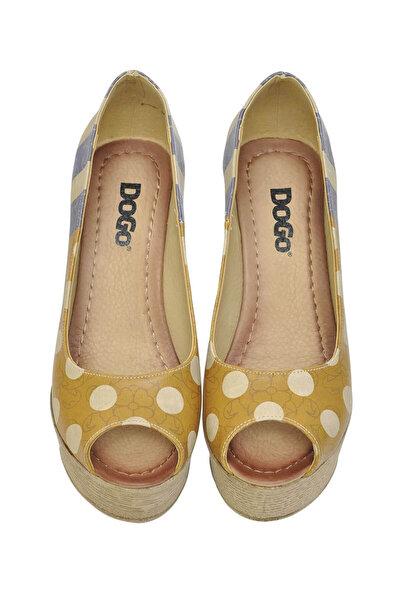 Multi Kadın Dolgu Topuklu Ayakkabı DGS017-MGD004