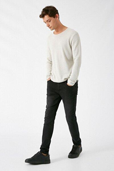 Erkek Siyah Jeans 1KAM43157YD