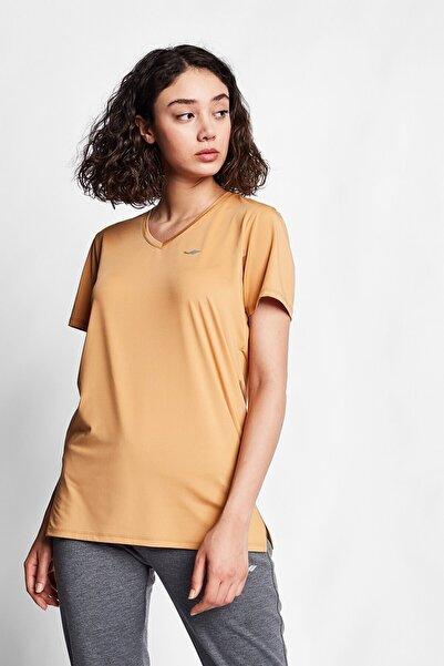 Karamel Kadın Kısa Kol T-shirt 20s-2208