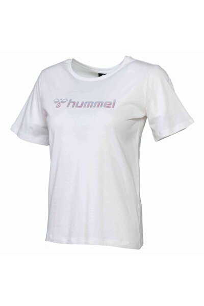 HMLMIMI T-SHIRT Beyaz Kadın T-Shirt 101086310