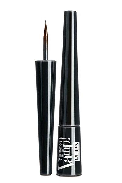 Eyeliner - Vamp Definition Liner Matte Brown