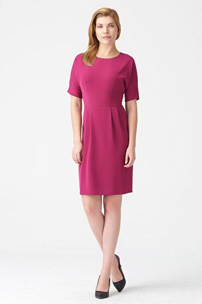 Kadın Fuşya Elbise 17K11112Y796